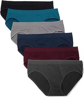 6 Pack Women's Hipster Brief Nylon Spandex Underwear