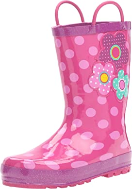 Flower Cutie Rain Boot (Toddler/Little Kid/Big Kid)