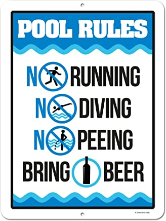 Amazon.com: Swimming Pool - Pool Signs / Safety Products: Patio ...