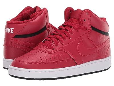 Nike Court Vision Mid (Gym Red/Gym Red/Black/Metallic Gold) Women