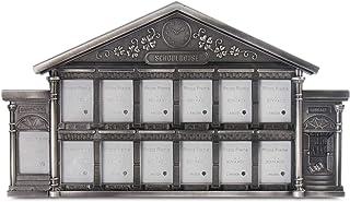 LASODY Antique Silver School House Picture Frame,Display Kindergarden Through High School