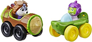 Top Wing Racers 2 Pack: Shirley Squirrely and Chomps from The Nick Jr. Show, Racers with Attached Figures, Great Toy for K...