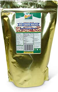 Mother Earth Products Freeze Dried Seedless Red Grape Halves (quart mylar bag)