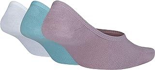 NIKE, Women's Leightweight Footie (3 Pair) Calcetines, Mujer