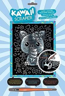 Sequin Art Kawaii Artfoil Kitten Kit, Silver