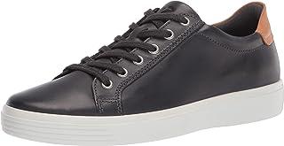 ECCO Men's Soft Classic Sneaker, MOONLESS/LION, 13 M US