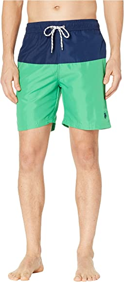 Color Block Swim Shorts
