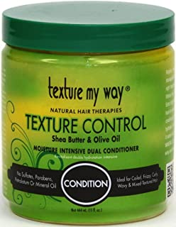 Africa`s Best Organics Texture My Way Texture Control Dual Conditioner 15 oz. (Pack of 2)