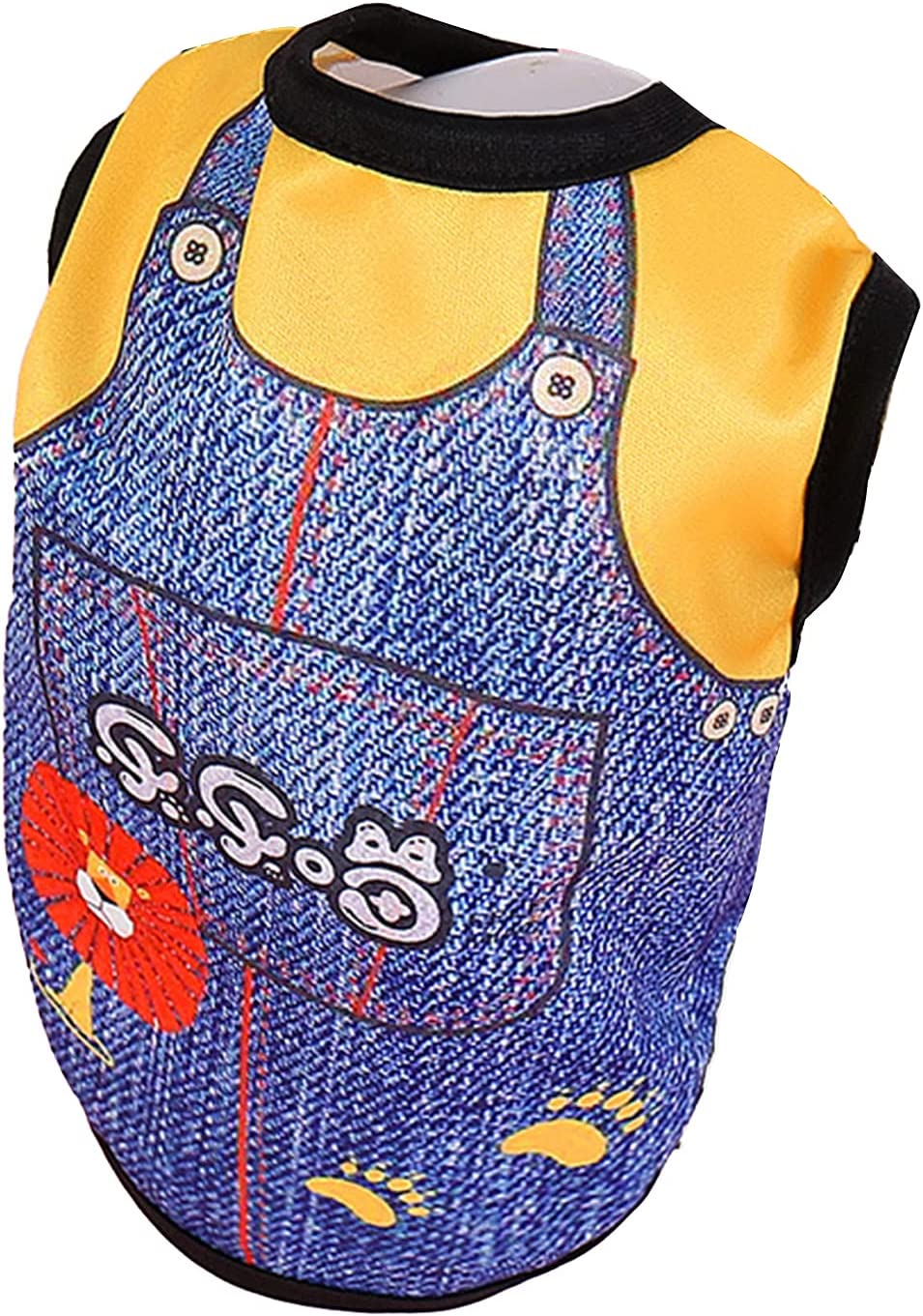 yanbirdfx Pet Max 55% OFF T-Shirt SEAL limited product Beautiful Breathable Costume Vest Dog Skin