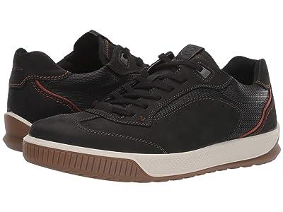 ECCO Byway Tred Urban Sneaker (Black/Black) Men