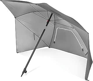 Sport-Brella Ultra SPF 50+ Angled Shade Canopy Umbrella for Optimum Sight Lines at Sports Events (8-Foot)