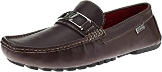 Mens Air Grant Bit Leather Shoes Slip-On Driving Moccasin Loafer