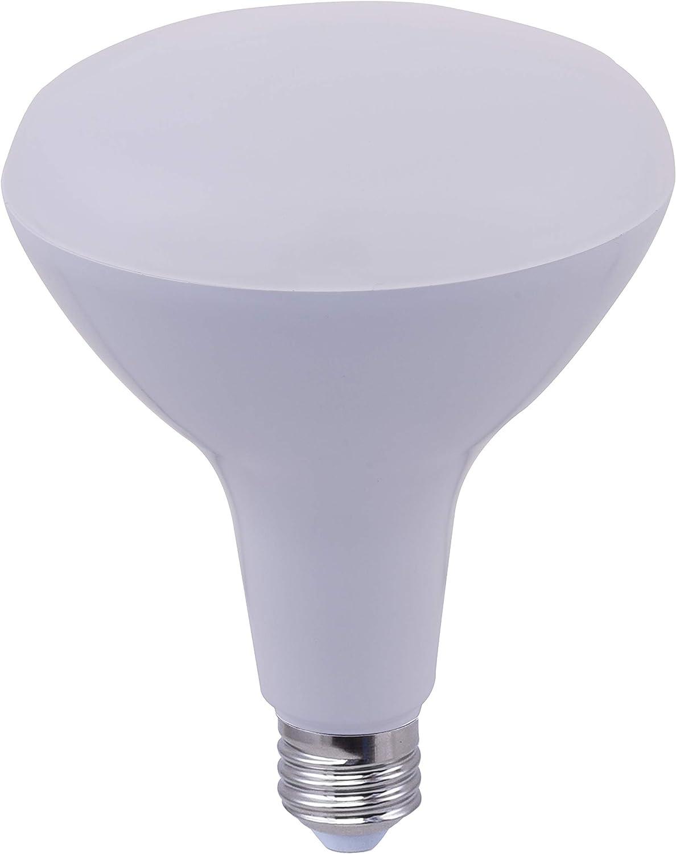 FixtureDisplays 17Watt Max 77% OFF BR40 4000K Dimmable Regular discount FDK-BR40-17 LED Bulb
