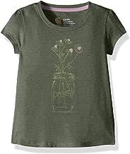 Carhartt Girls' Short Sleeve Cotton Graphic Tee T-Shirt