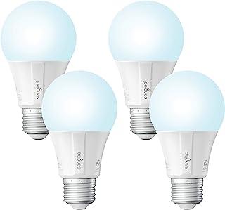 Sengled Smart LED Daylight A19 لامپ، هاب مورد نیاز، 5000K 60W معادل، با الکسا، دستیار گوگل و SmartThings، 4 بسته