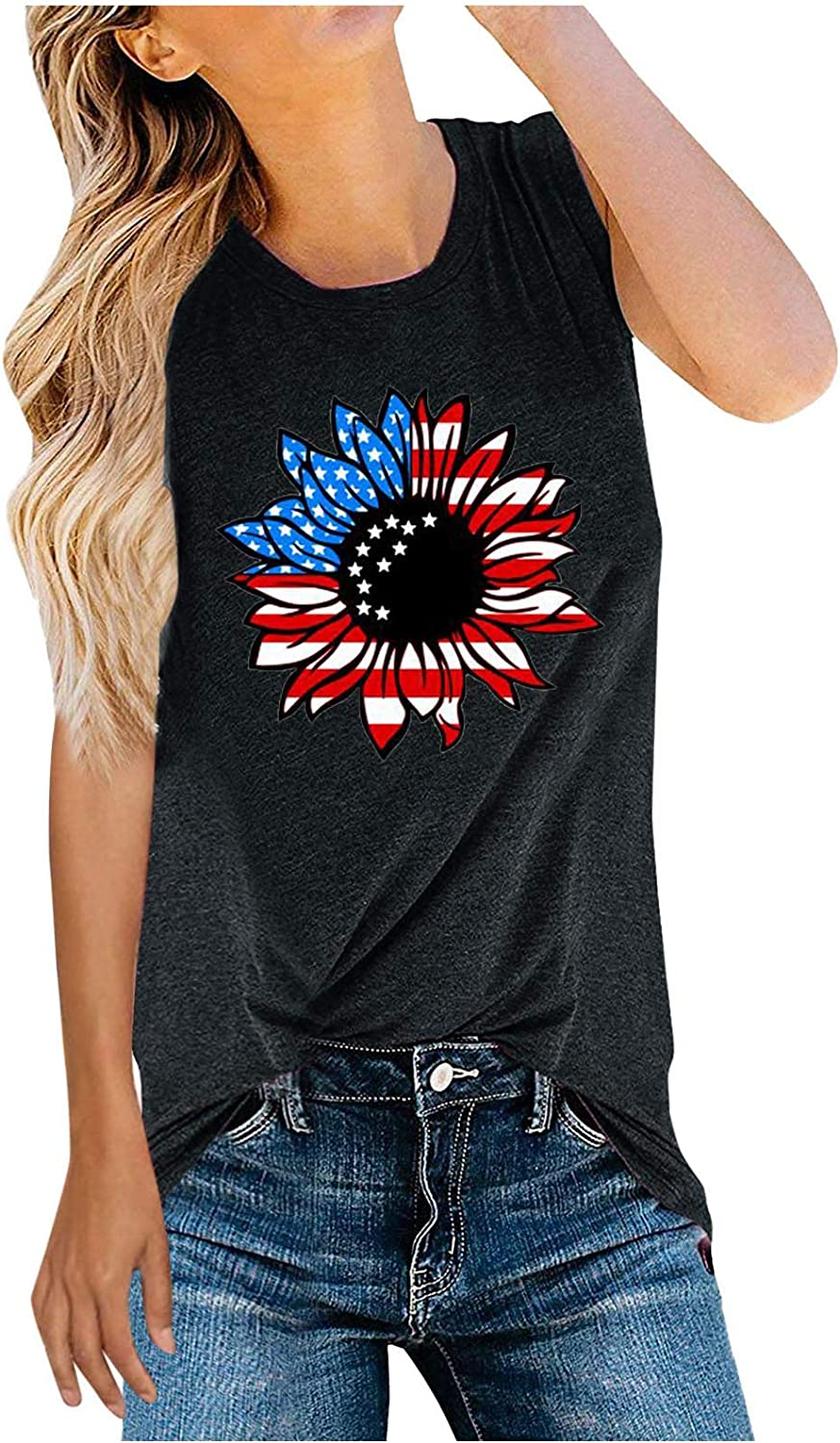 Fourth Super Special SALE held of July Clothing Black Tank Womens Tops Workout Max 66% OFF Crop