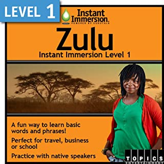Instant Immersion Level 1 - Zulu [Download]
