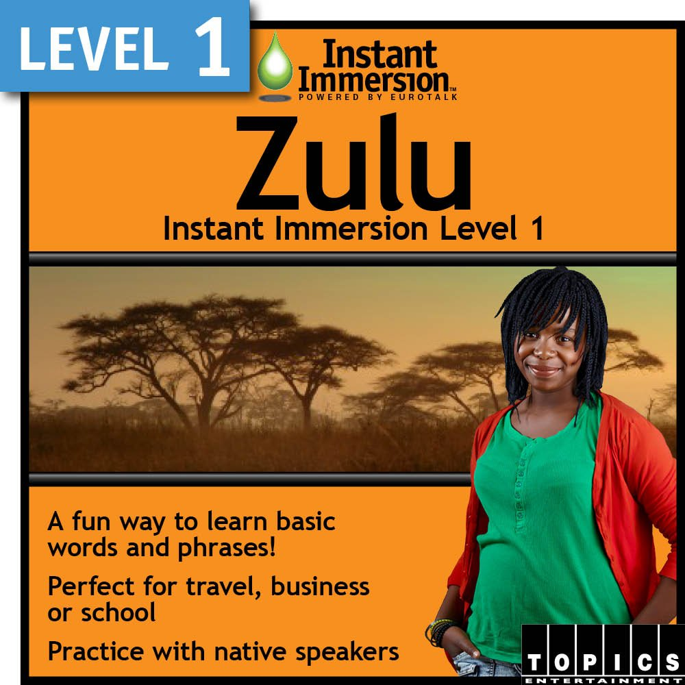 Instant Some reservation Product Immersion Level 1 Zulu Download -
