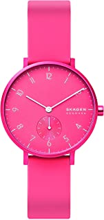Skagen Women's Quartz Watch analog Display and Silicone Strap, SKW2822