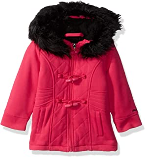 Limited Too Baby Girl`s Quilted Toggle Fleece Jacket Outerwear