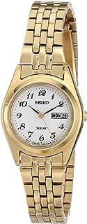 Seiko Women's Goldtone White Dial Dress Calendar Watch