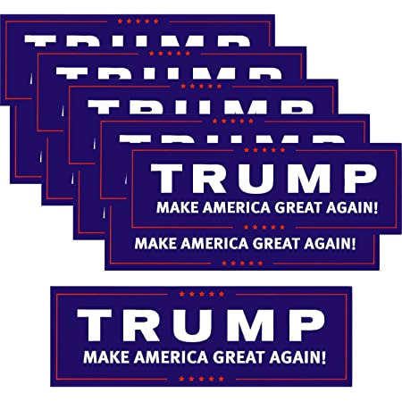 Trump Make America Great Again Bumper Sticker 10 Pack This Republican Candidate Stands Against Political Correctness /& For Conservative...
