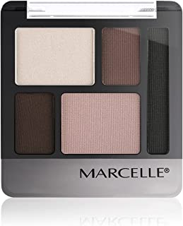(5.6 Gramme, Trench Taupe) - Marcelle Quintet Eyeshadow, Trench Taupe, 5.6 Gramme