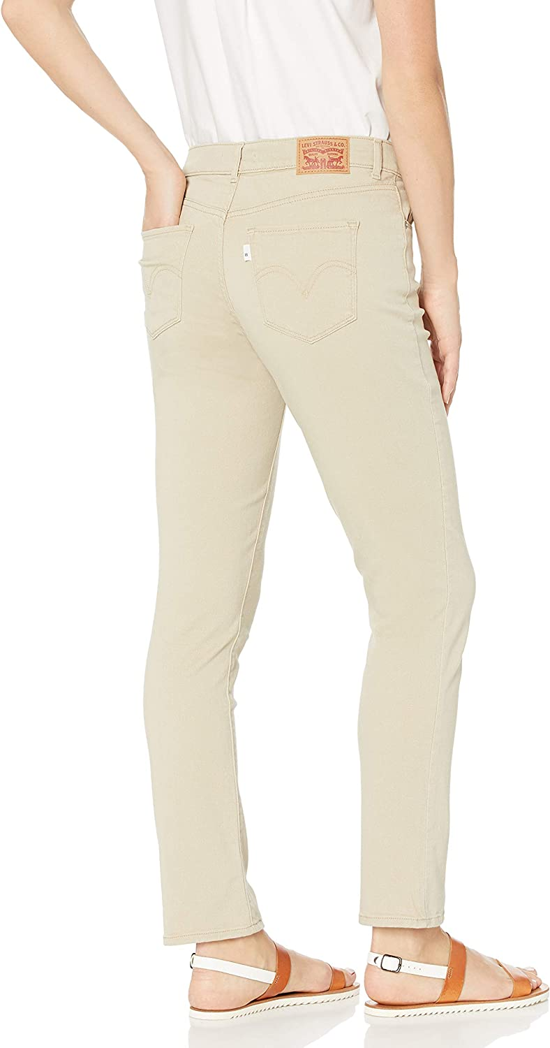 Levi's womens39250Classic Straight Jeans Jeans White Pepper Twill