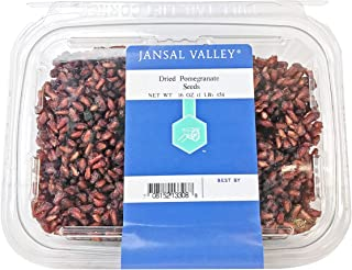 Jansal Valley Dried Pomegranate Seeds, 1 Pound
