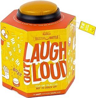 Professor Puzzle Laugh Out Loud - Hilarious Fast Paced Unique Party Game with Button Buzzer