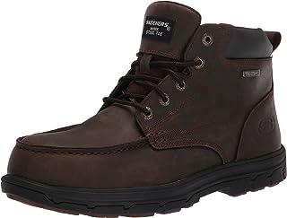 سكيتشرز الرجال العمل استرخاء صالح: Vicksburk ST الصلب تو الحذاء