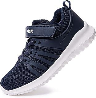 Akk Boys Girls Running Shoes - Kids Tennis Breathable Lightweight Sneakers