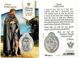 Saint Peregrine Healing Prayer Card