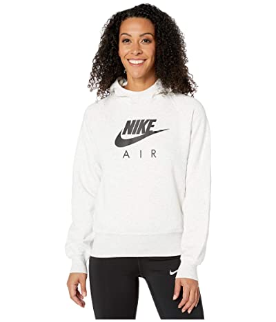 Nike NSW Air Hoodie BB (Birch Heather/Black) Women