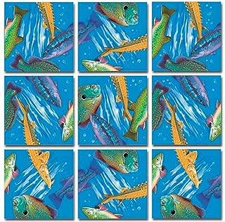 B.Dazzle Scramble Squares: Freshwater Fish