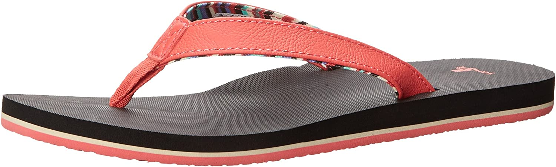 Sanuk Women's Springwater Flip Flop Pink