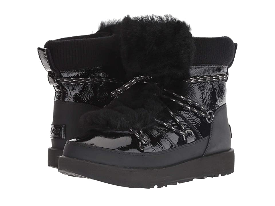 UGG Highland Waterproof Boot (Black) Women