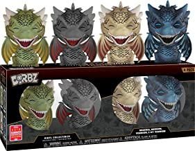 Dorbz: Funko Game of Thrones - Dragons 4-pack 2018 SDCC Exclusive