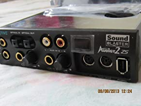 CREATIVE LABS SOUNDBLASTER AUDIGY 2 ZS SB0250 SOUND CARD WITH FRONT PANEL CASING AND REMOTE