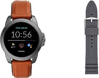 Fossil Connected Smartwatch Gen 5E para Hombre con tecnología Wear OS de Google, frecuencia cardíaca, GPS, NFC y notificac...