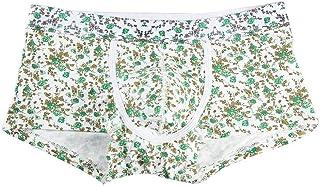 Men's Briefs Boxer Shorts Modern Fashion Casual Vintage Printed Underpants Comfortable Soft Breathable Underpants Panties Men