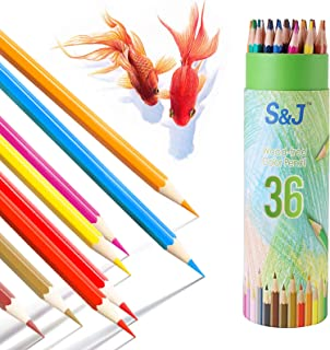 JUSCH Colored Pencils, 36 Pack Colored Pencils for Adult Coloring, Color Pencils for Kids, Color Pencil Set, Soft Core Col...