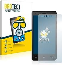 BROTECT Protector Pantalla Anti-Reflejos Compatible con BQ Aquaris E5 FHD (2 Unidades) Pelicula Mate Anti-Huellas
