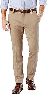 Men's Easy Khaki Slim Tapered Fit Pants Timberwolf Pants
