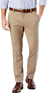 Men's Easy Khaki Slim Tapered Fit Pants