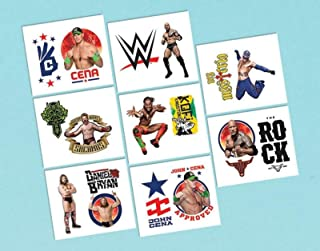 "WWE 2"" Tattoo Favors (16 Pack) - Party Supplies"