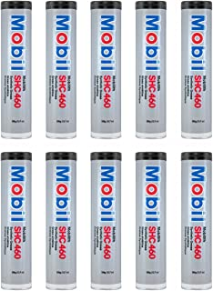 Mobil SHC 460 H/D Grease Synthetic Grease, Pack of 10 (Case)