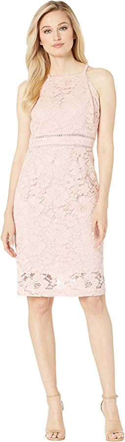 b30499ac561a Vince camuto printed velvet halter high low midi dress