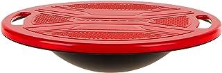 Ultrasport Tabla de Equilibrio, Disco de Coordinación para Optimizar el Equilibrio, Plataforma con Superficie Antideslizante, Disco Terapéutico con Manual de Ejercicios, Unisex Adulto, Ø 36 cm