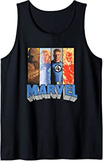 Marvel Fantastic Four Super Heroes The Timeless Collection Débardeur